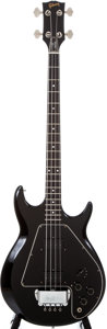 Musical Instruments:Electric Guitars, 1978 Gibson Ripper Black Electric Bass Guitar, #71518004....