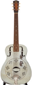 Musical Instruments:Acoustic Guitars, 1937 National Duolian Crystalline Resonator Guitar, #A 2350....