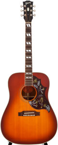 Musical Instruments:Acoustic Guitars, 1997 Gibson Hummingbird Sunburst Acoustic Guitar, #92578035....