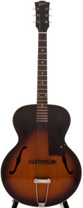 Musical Instruments:Acoustic Guitars, 1962 Gibson L-48 Sunburst Archtop Acoustic Guitar, #91395....
