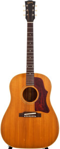 Musical Instruments:Acoustic Guitars, Late 1960s Gibson J-50 Natural Acoustic Guitar, #809936....