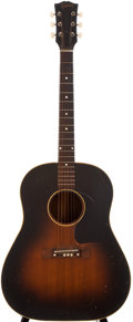 Musical Instruments:Acoustic Guitars, 1952 Gibson J-45 Sunburst Acoustic Guitar, #Y4946....