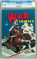 Golden Age (1938-1955):War, War Comics #2 Mile High pedigree (Dell, 1941) CGC VF- 7.5 Off-white to white pages....