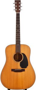 Musical Instruments:Acoustic Guitars, 1974 Martin D-18 Natural Acoustic Guitar, #345573....