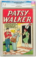 Golden Age (1938-1955):Romance, Patsy Walker #21 Mile High pedigree (Atlas, 1949) CGC VF- 7.5Off-white to white pages....