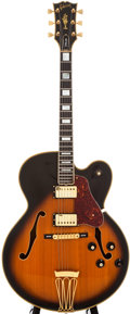 Musical Instruments:Electric Guitars, 1976 Gibson Byrdland Sunburst Archtop Electric Guitar,#001012381978....
