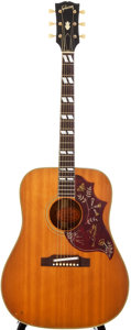 Musical Instruments:Acoustic Guitars, 1967 Gibson Hummingbird Natural Acoustic Guitar, #370051....