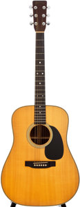 Musical Instruments:Acoustic Guitars, 1976 Martin HD-28 Natural Acoustic Guitar, #383685....
