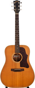Musical Instruments:Acoustic Guitars, 1978 Gibson J-50 Deluxe Natural Acoustic Guitar, #71598021....