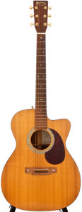 Musical Instruments:Acoustic Guitars, 1997 Martin SP00C-16TR Natural Acoustic Guitar, #602463....