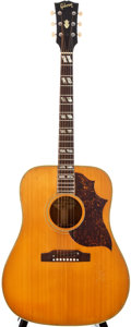 Musical Instruments:Acoustic Guitars, 1965-67 Gibson Country Western Natural Acoustic Guitar, #330124....