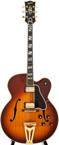 Musical Instruments:Electric Guitars, 1969 Gibson Super 400 Custom Sunburst Archtop Electric Guitar,#543209....
