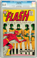 Silver Age (1956-1969):Superhero, The Flash #105 (DC, 1959) CGC VF 8.0 Cream to off-white pages....