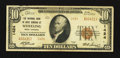 National Bank Notes:West Virginia, Wheeling, WV - $10 1929 Ty. 2 The NB of West Virginia Ch. # 1424....