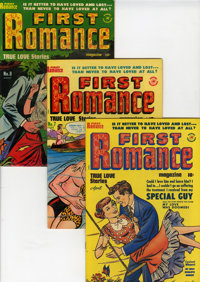 First Romance Magazine #5 and 7-52 File Copy Group (Harvey, 1950-58) Condition: Average VF.... (Total: 47 Comic Books)