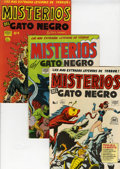 Golden Age (1938-1955):Horror, Misterios del Gato Negro File Copy Group (Harvey, 1950s) Condition:Average FN.... (Total: 19 Comic Books)