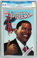 Modern Age (1980-Present):Superhero, The Amazing Spider-Man #583 CGC-Graded Group (Marvel, 2009) CGCNM/MT 9.8 White pages.... (Total: 2 Items)