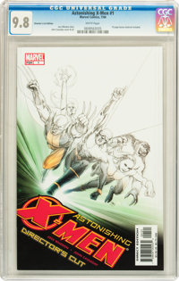 The Astonishing X-Men CGC-Graded Signature Series Group (Marvel, 2004) White pages.... (Total: 6 Comic Books)