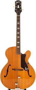 Musical Instruments:Acoustic Guitars, 1951 Epiphone Triumph Natural Archtop Acoustic Guitar, #15965....