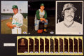 Baseball Collectibles:Others, Jim Catfish Hunter Signed Memorabilia Lot of 16....