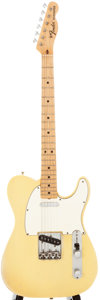 Musical Instruments:Electric Guitars, 1969 Fender Telecaster Cream Solid Body Electric Guitar,#229161....