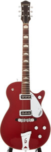Musical Instruments:Electric Guitars, 1956 Gretsch 6131 Jet Firebird Red Solid Body Electric Guitar, #21150....