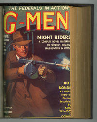 G-Men Detective January-June 1937 Bound Volume (Better Comics, 1937)