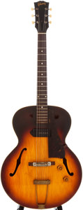 Musical Instruments:Electric Guitars, 1959 Gibson ES-125 T Sunburst Archtop Electric Guitar, #S330234....