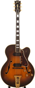 Musical Instruments:Electric Guitars, 1951 Gibson L-5 CES Sunburst Archtop Electric Guitar, #A-9385....