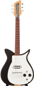 Musical Instruments:Electric Guitars, 1958 Rickenbacker 1000 Black Solid Body Electric Guitar, #V8471....