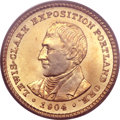 Commemorative Gold, 1904 G$1 Lewis and Clark MS64 PCGS. CAC....