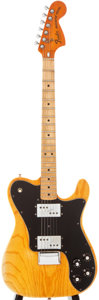 Musical Instruments:Electric Guitars, 1977 Fender Telecaster Deluxe Natural Solid Body Electric Guitar, #S705128....
