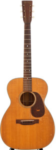 Musical Instruments:Acoustic Guitars, 1945 Martin 00-18 Natural Acoustic Guitar, #90446....