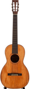 Musical Instruments:Acoustic Guitars, 1880s Martin 121 Natural Acoustic Guitar, #N/A....