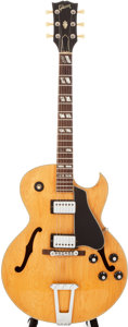 Musical Instruments:Electric Guitars, 1976 Gibson ES-175D Natural Archtop Electric Guitar, #00103026....