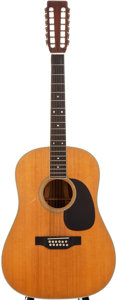 Musical Instruments:Acoustic Guitars, 1968 Martin D12-35 Natural 12-String Acoustic Guitar, #238167....