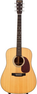Musical Instruments:Acoustic Guitars, 1999 Martin HD-28 Natural Acoustic Guitar, Serial #716063....