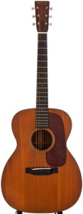 Musical Instruments:Acoustic Guitars, 1938 Martin 000-21 Natural Acoustic Guitar, #71490....