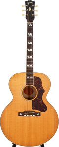 Musical Instruments:Acoustic Guitars, 2007 Gibson J-185 Natural Acoustic Guitar, #02073021....