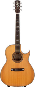 Musical Instruments:Acoustic Guitars, Larrivée Cutaway Natural Acoustic Guitar, #282184....