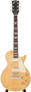 Musical Instruments:Electric Guitars, 1978 Gibson Les Paul Deluxe Natural Solid Body Electric Guitar,#71118575....