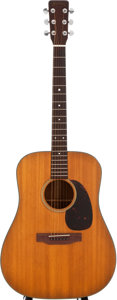 Musical Instruments:Acoustic Guitars, 1966 Martin D-18 Natural Acoustic Guitar, #207455....