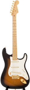 Musical Instruments:Electric Guitars, 1994 Fender Stratocaster Sunburst Solid Body Electric Guitar,#DZ4256631....
