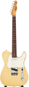 Musical Instruments:Electric Guitars, 1968 Fender Telecaster Cream Solid Body Electric Guitar,#246256....
