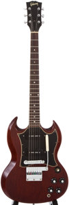 Musical Instruments:Electric Guitars, 1969 Gibson SG Special Cherry Solid Body Electric Guitar,#800950....