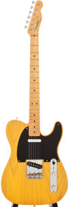 Musical Instruments:Electric Guitars, Modern Fender Telecaster Butterscotch Solid Body Electric Guitar,#66743....