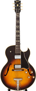 Musical Instruments:Electric Guitars, 1963 Gibson ES-175 Sunburst Archtop Electric Guitar, #102267....