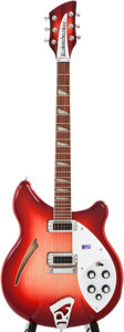 Musical Instruments:Electric Guitars, 2005 Rickenbacker 360 Fireglo Semi-Hollow Body Electric Guitar,#03808....
