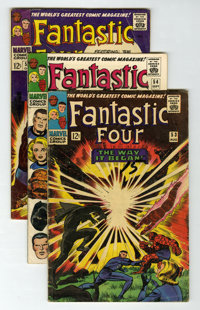 Fantastic Four Group (Marvel, 1966-68) Condition: Average VG.... (Total: 16 Comic Books)