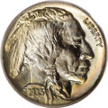 Buffalo Nickels: , 1935 5C MS68 PCGS. According to the Population Report, PCGShas graded 27 Buffalo nickels in MS68. This number covers t...